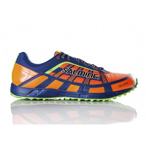 Salming Trail T3 Shoe Men Shocking Orange/Deep Blue bežecká obuv