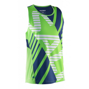 Salming Race Singlet Men Lizard/Deep Blue tielko