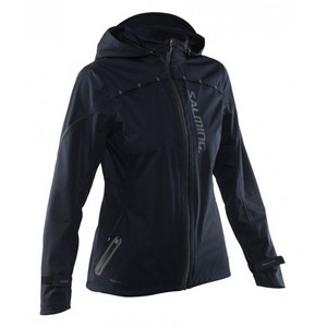 Salming Run Abisko Rain Jkt Women Black jacket