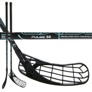 OxDog PULSE 32 BK 92 OVAL Floorball stick