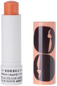 Korres Lipbalm Care and Colour Apricot Stick 5ml