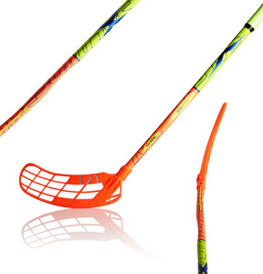 Salming Q1 X-Shaft KZ TC 3° JR Floorball Stick