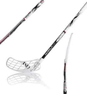 Salming Q5 X-shaft KZ TC 3° Floorball Schläger