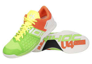 Unihoc U4 STL LowCut Men mixed neon Indoor shoes