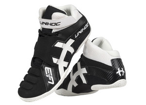 Unihoc U3 Goalie black/white Goalkeeper boots
