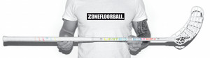 Zone floorball MONSTR Air SL PREVIEW 27 rainbow Florbalová hokejka