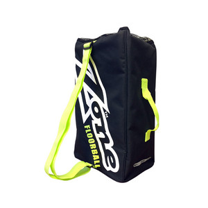 Zone floorball EYECATCHER black/white/lime Vak na loptičky
