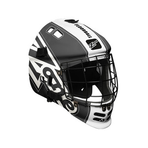 Zone floorball LEGEND black/white Goalie Helmet