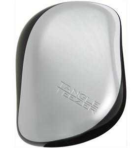Tangle Teezer Compact Styler Silver Luxe Stříbrná