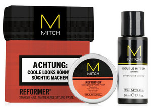 Paul Mitchell Mitch Reformer Mini Set mini sada šampon + stylingová pasta