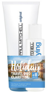 Paul Mitchell Clarifying Holiday Travel Duo Clarifying cestovní čisticí set