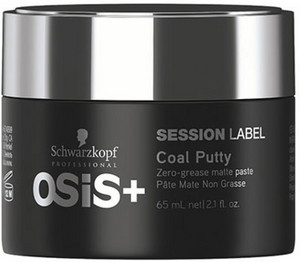 Schwarzkopf Professional Osis Session Label Coal Putty 65ml