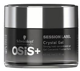 Schwarzkopf Professional Osis Session Label Crystal Gel 65ml