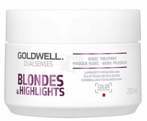 Goldwell Dualsenses Blondes & Highlights 60sec Treatment regenerační maska na vlasy