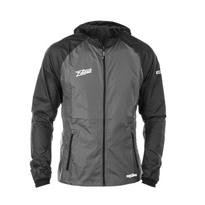 Zone floorball WIND HYBRID black/grey Jacke