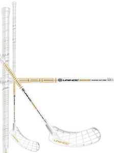 Unihoc EPIC EDGE Curve 1.0º 26 white/gold Floorbal stick