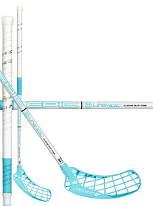 Unihoc EPIC Curve 2.0º 26 white/turquoise Floorbal stick