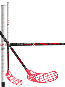 Unihoc UNITY TeXtreme Feather Light Curve 1.0º 29 red/white Floorbal stick