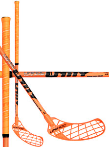 Unihoc UNITY Curve 1.5º 35 neon orange/black Floorball Schläger