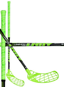 Unihoc UNITY 32 light green/black Florbalová hokejka