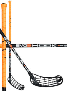 Unihoc EVO3 Hook 29 neon orange/black Florbalová hokejka