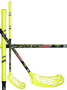 Unihoc CAVITY Z 32 neon yellow/black Floorbal stick