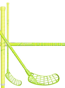Zone floorball MONSTR RIPPLE Ultralight 29 neon yellow/light green Florbalová hokejka