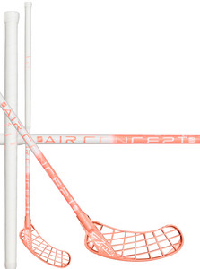 Zone floorball MONSTR AIR SL Curve 1.0° 27 white/light coral Florbalová hokejka