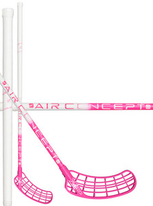 Zone floorball SUPREME AIR Superlight Curve 1.0° 29 white/pink Florbalová hokejka