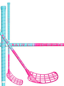 Zone floorball ZUPER AIR Superlight 29 light turquoise/pink Florbalová hokejka