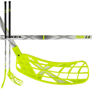 Exel F100 WHITE 2.6 103 ROUND SB Floorball s tick