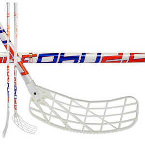 Exel P60 WHITE 2.6 101 OVAL MB Floorball schläger