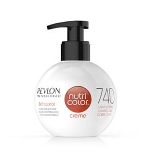 Revlon Professional Nutri Color Creme NEW 270ml 740 měděná
