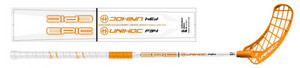 Unihoc EPIC 34 SMU white/neon orange Floorbal stick
