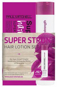 Paul Mitchell Strength Super Strong Hair Lotion & Shampoo