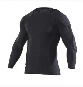 "McDavid 7737 HEX GOALKEEPER SHIRT LS ""EXTREME II"" long sleeves shirt for contact sports"