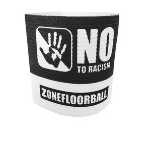 Zone floorball NO TO RACISM Kapitánska páska