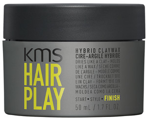 KMS Hair Play Hybrid Claywax hlina a vosk 2v1