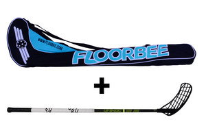 Unihoc Player 26 + Stickbag Set of the floorball stick with bag