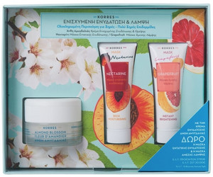 Korres Moisturising & Brightening Gift Set very dry to dry skin