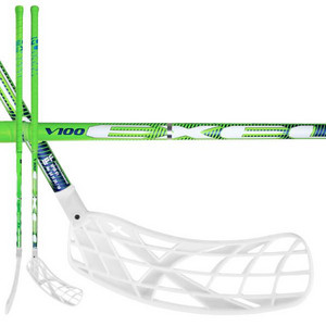 Exel V100 2.9 green round X-blade Floorball stick