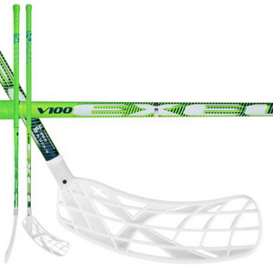Exel V100 2.6 green oval X-blade Floorball stick