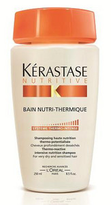 Kérastase Nutritive Bain-Nutri Thermique Thermo-reactive Intensive Nutrition Shampoo 250ml