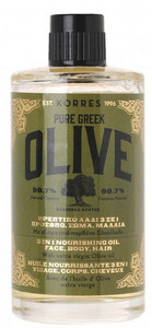 Korres Pure Greek Olive Nourishing Oil 3in1 For Face/Body/Hair