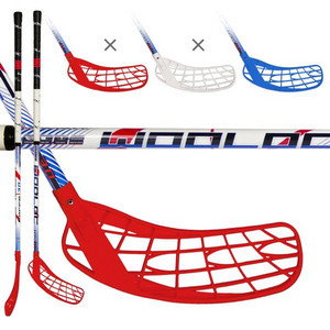 Wooloc FORCE 3.0 Blue/Red/White Florbalová palica