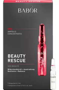 Babor Ampoule Concentrates Beauty Rescue for brilliant and durable skin