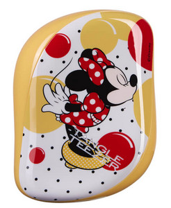 Tangle Teezer Compact Styler Disney Minnie Mouse Yellow kompaktná kefa na vlasy