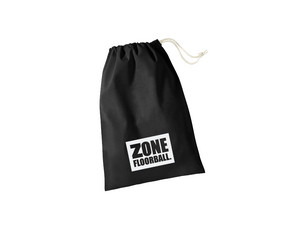 Zone floorball Shoebag Zone black Taška na boty