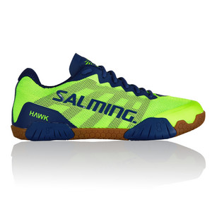 Salming Hawk Men Shoe Green/Blue Halová obuv