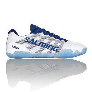 Salming Hawk Women Shoe White/Navy Blue Halová obuv